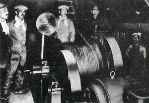 坑内巻き揚げ機
